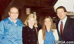 Al and Tipper Gore with <b>Fred Phelps</b>, Jr. and Betty Phelps